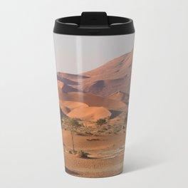 Desert textures - Sossusvlei desert, Namibia Travel Mug