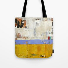Amenity Abstract Landscape Yellow Modern Shawn McNulty Tote Bag