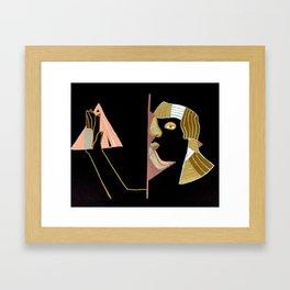 ancients among us Framed Art Print