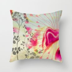 Efflorescence [5] Vintage Throw Pillow