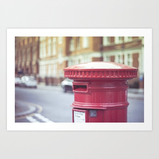 Post London Art Print