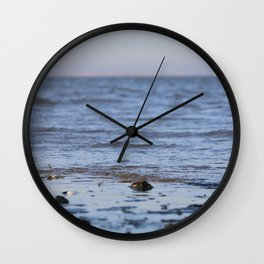 Shells in the sand 5 Wall Clock
