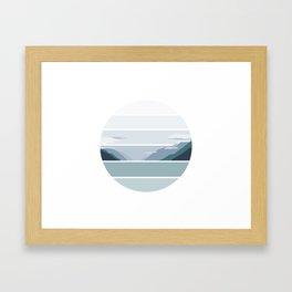 Alaskan Greens Framed Art Print
