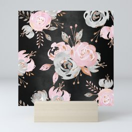 Night Roses 2 Mini Art Print