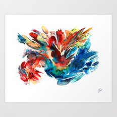 Bird Set Free Art Print