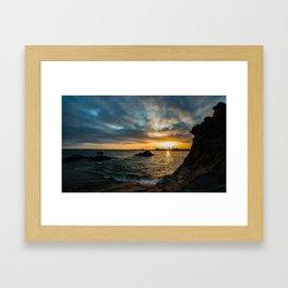 Simple Sunday - Pirates Cove Framed Art Print