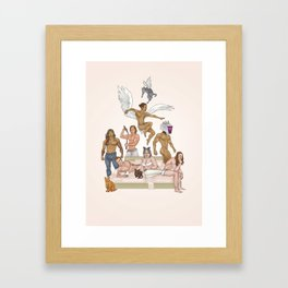 MI BABIS Framed Art Print