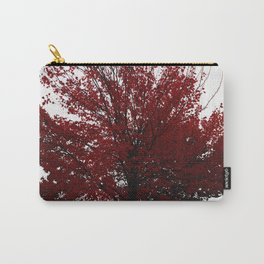 Tree on Canvas Carry-All Pouch