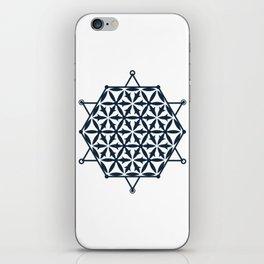 Flower of Life, Sacred Geometry iPhone Skin