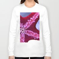 starfish Long Sleeve T-shirts featuring Starfish by whosoheather