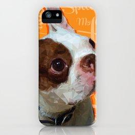 Spanky iPhone Case