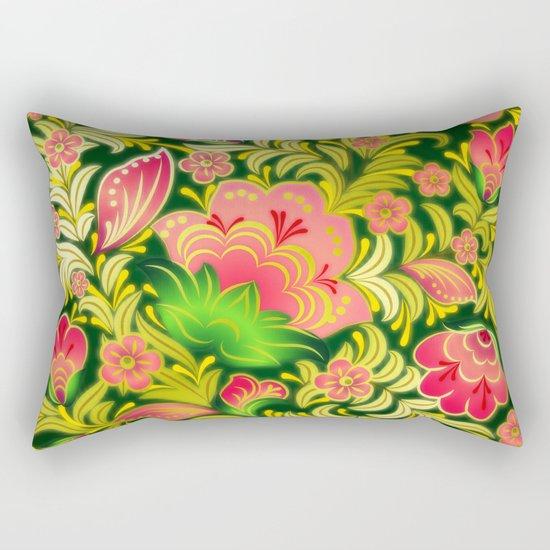 Shabby flowers #14 Rectangular Pillow