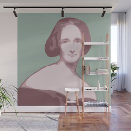 Mary Shelley Wall Mural
