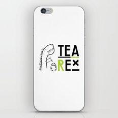 Tea-Rex iPhone & iPod Skin