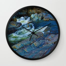 On route to Ucluelet on Vancouver Island, BC Wall Clock