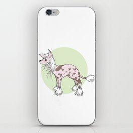Chinese crested iPhone Skin