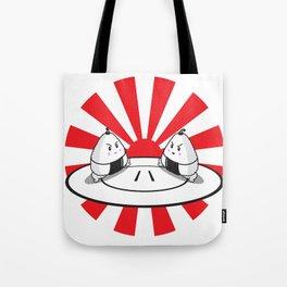 Rice Balls Sumo Onigiri Tote Bag