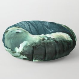 Wolves Floor Pillow