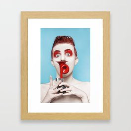 klaxon Framed Art Print