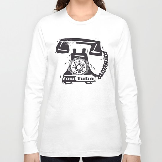 Little things retro - Social Network Long Sleeve T-shirt
