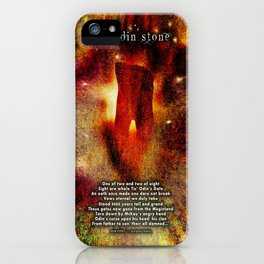 The Odin Stone iPhone Case