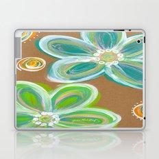 Funky Flowers Laptop & iPad Skin