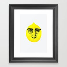 John Lemon Framed Art Print