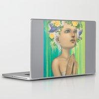 virgo Laptop & iPad Skins featuring Virgo by Artist Andrea