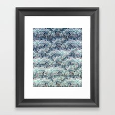 BOHO SEA MANDALAS Framed Art Print