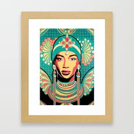 Aminata Framed Art Print