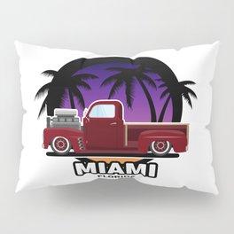 Miami muscle car Pillow Sham