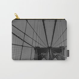 Spider web in New York Carry-All Pouch