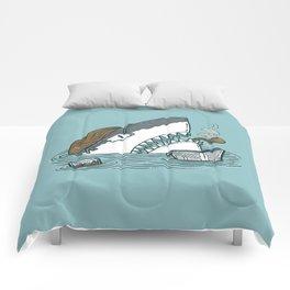 The Dad Shark Comforters