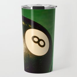 Eight Ball-Green Travel Mug