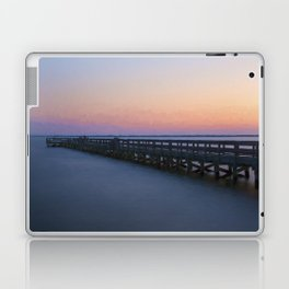 Hilton Pier at Sunset Laptop & iPad Skin