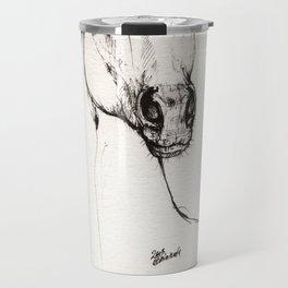 Arabian horse drawing Travel Mug