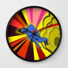 El superhéroe Wall Clock