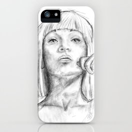 Young Maddie iPhone Case