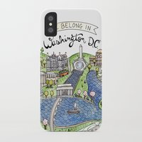 washington iPhone & iPod Cases featuring Washington DC by Brooke Weeber
