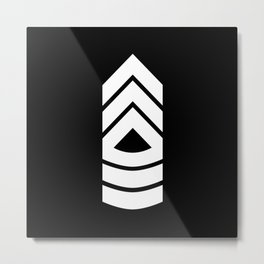 Master Sergeant Metal Print
