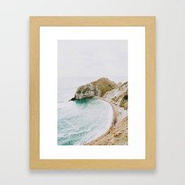 summer coast iv Framed Art Print