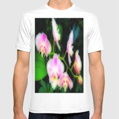 Gentle Grace MEDIUM White Mens Fitted Tee
