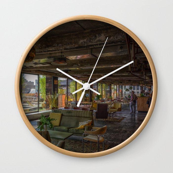 Bar Gloed Wall Clock