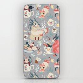 Tea Spirit pattern iPhone Skin
