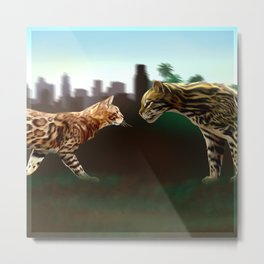 Meet the wild brother - Part 3 Metal Print