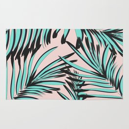 Tropical print Rug