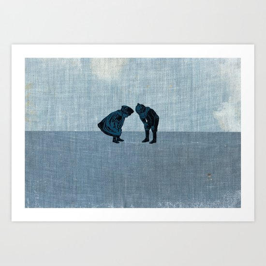 search Art Print
