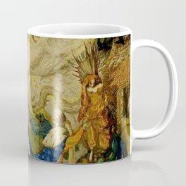 Sleeping Beauty The Aged King Pleads with the Good-Fairy Fairy Tale Portrait by Leon Bakst Coffee Mug