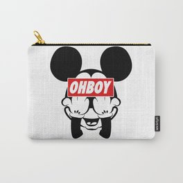 mickey mouse oh boy Carry-All Pouch