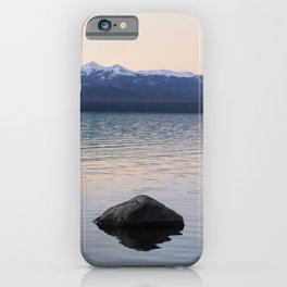 Lonely lake iPhone Case